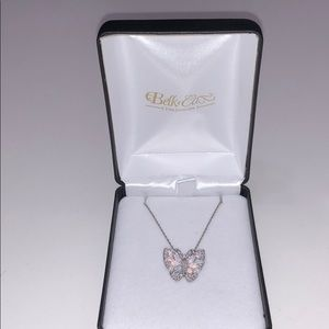 Beautiful Butterfly Pendant on a silver Chain!